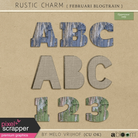 Rustic Charm - Alpha Kit