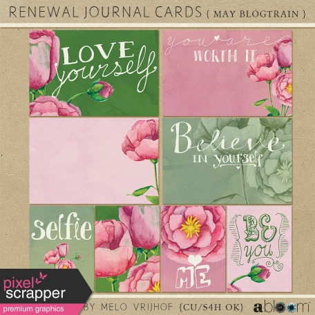 Renewal - Journal Cards Kit