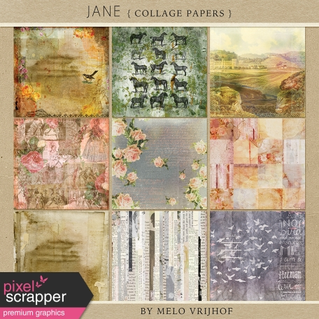 Jane - Collage Papers