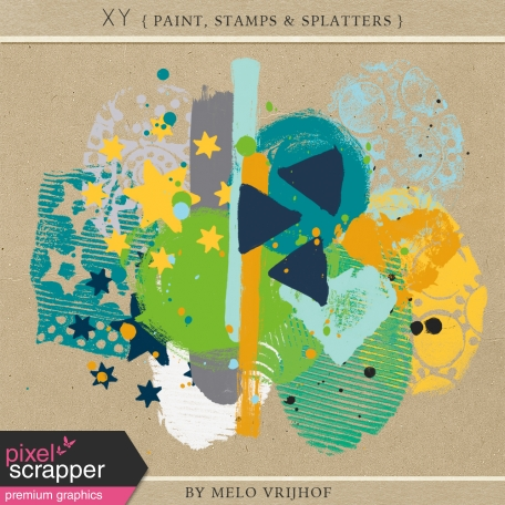 XY - Paint, Stamps & Splatter