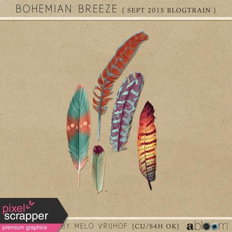 Bohemian Breeze - Feathers
