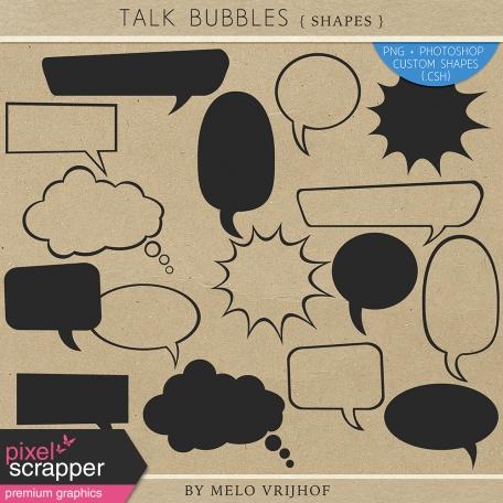 talk bubble photoshop custom shapes