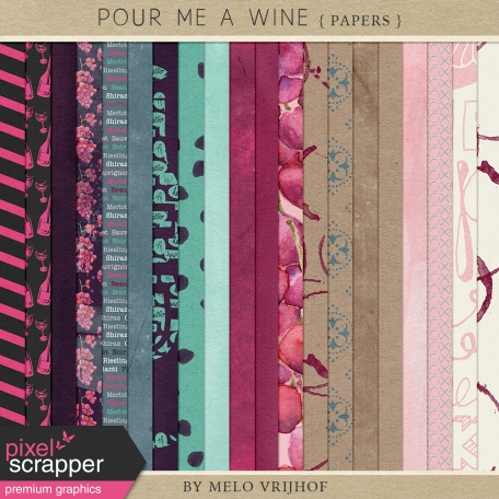 Pour Me A Wine - Papers