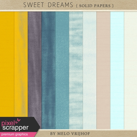 Sweet Dreams - Solid Papers