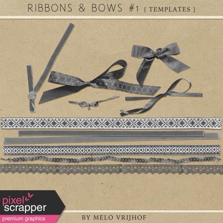 Ribbons And Bows 1 - Templates