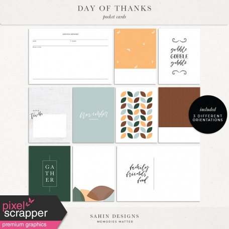 Day of Thanks Cards