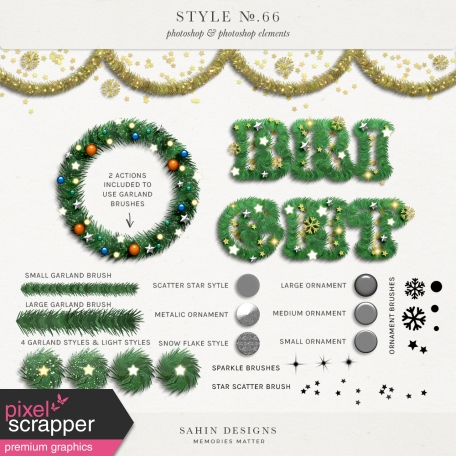 Style No.66: Christmas Garland