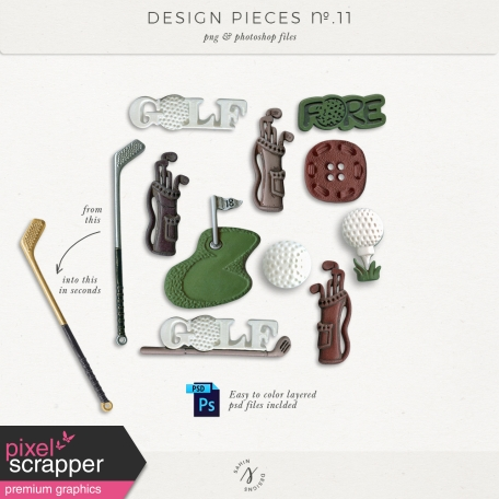 Design Pieces No.11