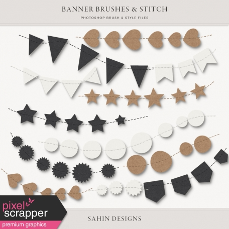 Banner & Stitch Brushes