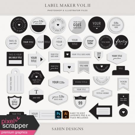 Label Maker Vol.II