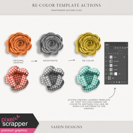 Re-color Template Maker
