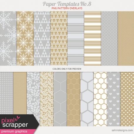 Paper Templates No.8