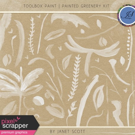 Toolbox Paint - Painted Greenery Kit