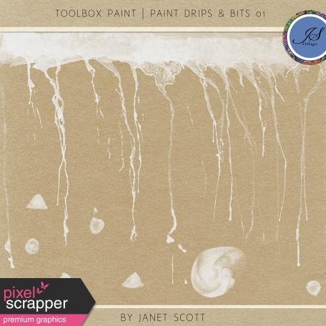 Toolbox Paint - Drips & Bits 01 Kit