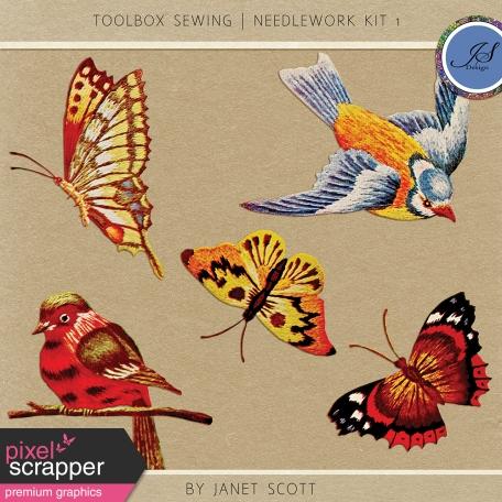 Toolbox Sewing - Needlework Kit 1