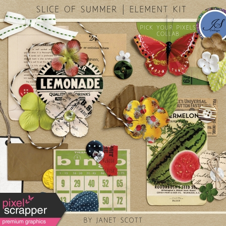 Slice of Summer - Element Kit