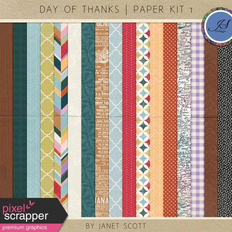 Day of Thanks  - Paper Kit 1