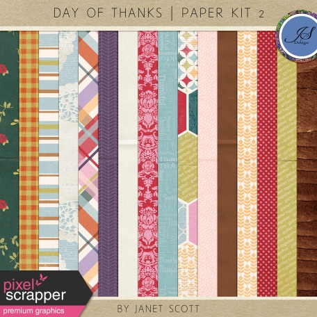 Day Of Thanks - Paper Kit 2