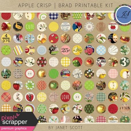 Apple Crisp - Brad Printable Kit