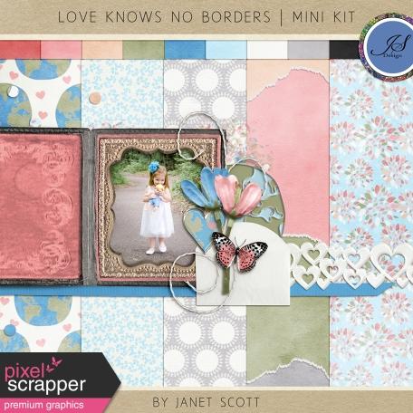 Love Knows No Borders - Mini Kit