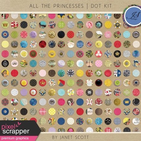 All the Princesses - Dot Kit