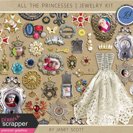 All the Princesses - Jewelry Kit