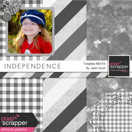 Independence Mini-Kit Templates and Overlays