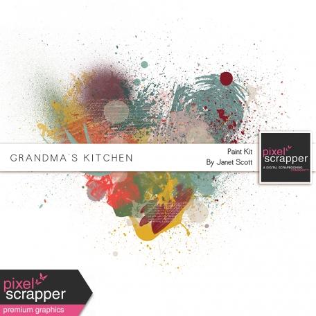 Grandma's Kitchen - Paint Kit