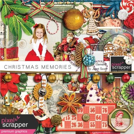 Christmas Memories - Elements Kit