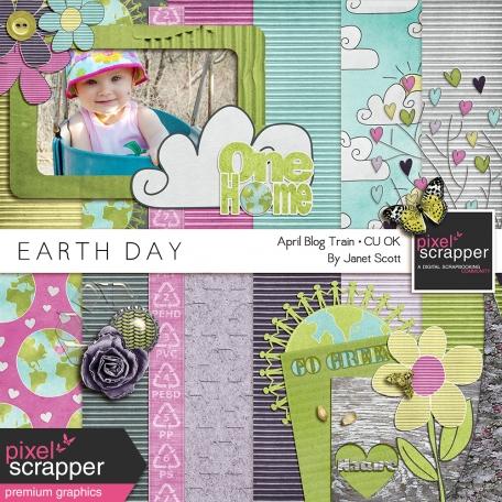Earth Day - April 2014 Blog Train Mini-Kit