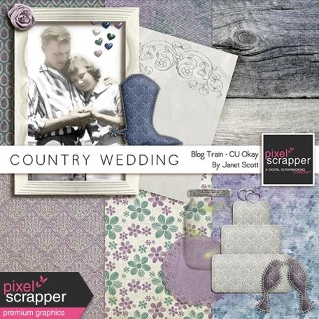 Country Wedding - March 2014 Blog Train Mini-Kit