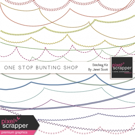 One Stop Bunting Shop - Stitching Kit