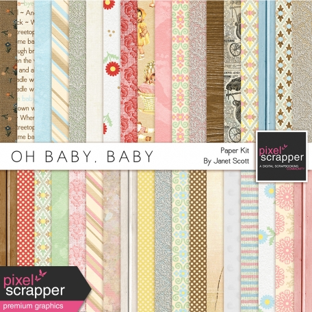 Oh Baby, Baby - Patterned Paper Kit