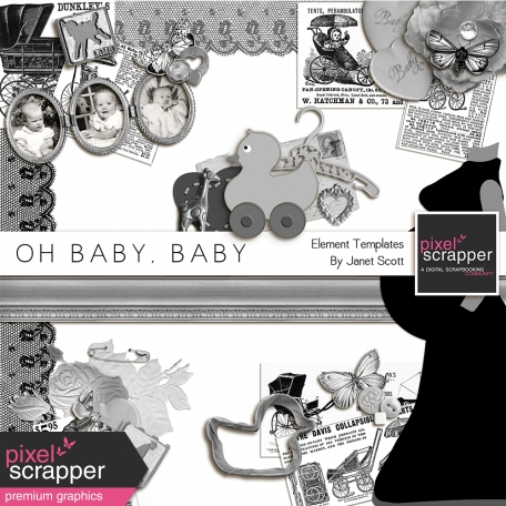 Oh Baby, Baby - Element Template Kit