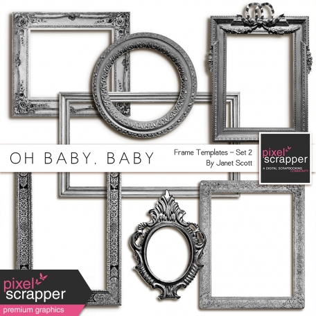 Oh Baby, Baby - Frame Templates Set 2