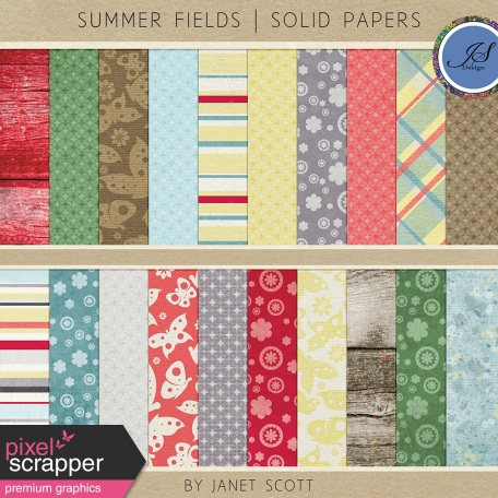 Summer Fields - Paper Kit