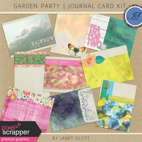 Garden Party - Journal Card Kit