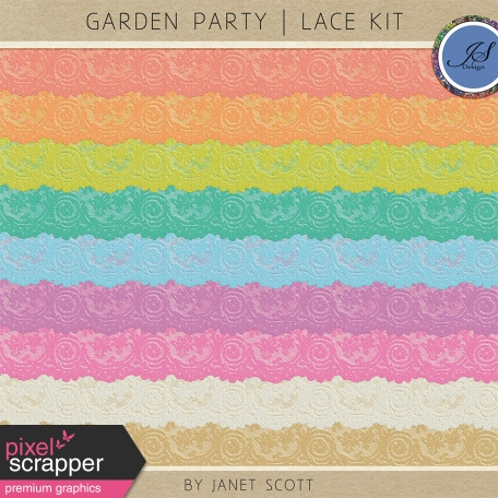 Garden Party - Lace Kit