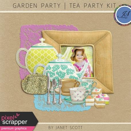 Garden Party - Tea Party Set