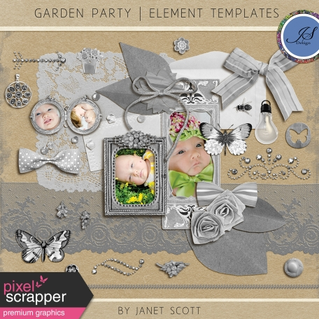 Garden Party - Element Template Kit