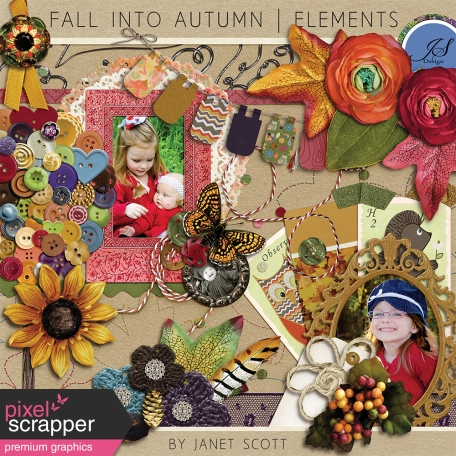 Fall Into Autumn - Elements Kit