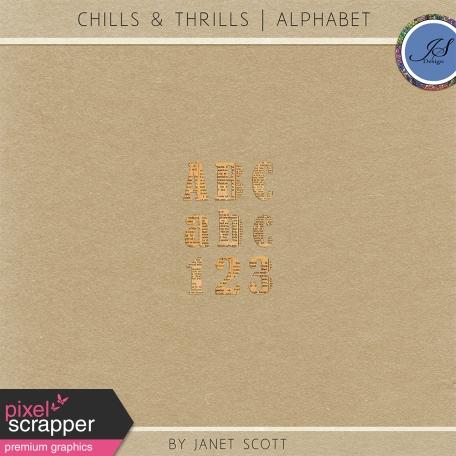 Chills & Thrills - Alphabet Kit