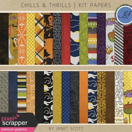 Chills & Thrills - Paper Kit