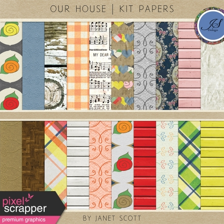 Our House - Paper Kit