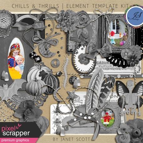 Chills & Thrills - Element Template Kit