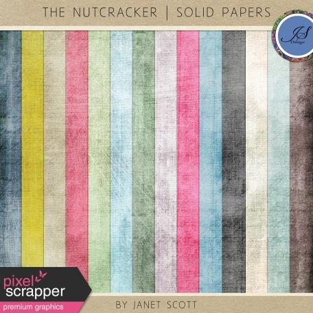 The Nutcracker - Solid Paper Kit