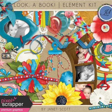 Look, a Book! - Element Kit