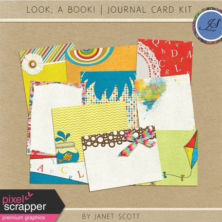 Look, a Book! - Journal Card Kit