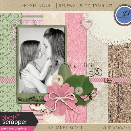 Fresh Start - May 2015 Renewal Blog Train Kit