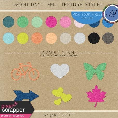 Good Day - Felt Style Kit